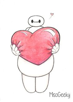 This is so adorable. I love baymax so much <3