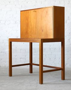 Nanna Ditzel Mahogany Poul Kolds Savværk Bureau/Secretary Vintage Danish Modern