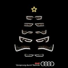 O #Christmas Tree! O #ChristmasTree! Thy leaves are so unchanging! #Audi