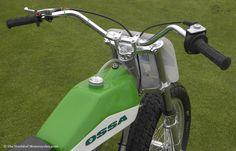 ossa motorcycles   1977 Ossa ST1 Short Tracker 250cc Motorcycle