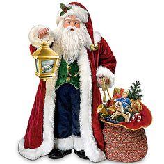 Thomas Kinkade Traditional Musical Santa Doll