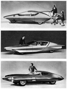 Concept cars shown by General Motors at the New York World's Fair (1964).
