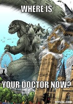Doctor who? Haha this is awesome.