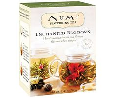 Numi Tea Petite Bouquet - Assorted Flowering Teas, 4 Count Box - Cool Kitchen Gifts