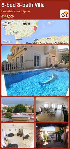 5-bed 3-bath Villa in Los Alcazares, Spain ►€345,000 #PropertyForSaleInSpain