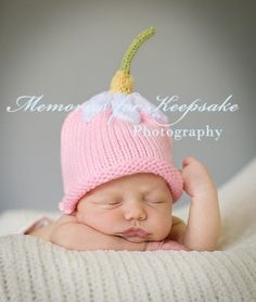 Upsy Daisy Hat  Pink  Baby Child Adult Hat   by charbridgecrafts, $20.00