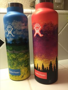 love painting these ! #hydroflask