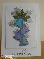 Welcome to a post to announce the launch of a new stamp set by the wonderful Dee at STAMPlorations . This latest set is called Christmas . Christmas Bells, Christmas Cards, Christmas Challenge, My Stamp, I Card, Artsy, Mini, Crafts, Paper Crafting