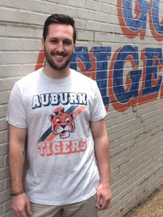 Throwback Aubie Vint Tee (SKU MEN TEES  BD715151  11845607)