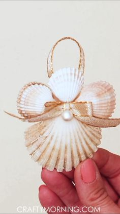 How to Make Seashell Angel Ornaments- fun christmas craft for kids or adults! Coastal christmas idea to decorate your tree. Xmas DIY art project for school, gifts, etc! christmas crafts for gifts for adults Seashell Angel Ornaments 36+ Christmas Crafts For Gifts For Adults 2020 Seashell Christmas Ornaments, Christmas Angels, Coastal Christmas, Handmade Christmas, Christmas Diy, Seashell Ornaments, Christmas Tables, Modern Christmas, Scandinavian Christmas