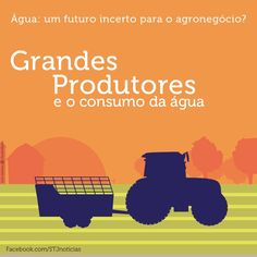 É considerada grande propriedade rural toda área acima de 200 hectares. No Brasil, esse tipo de produtor corresponde à boa parte do agronegócio do país. Só no ano passado, foi responsável por mais 146 mil toneladas de alimentos, entre grãos, carnes, sucos e hortaliças. Ouça a matéria completa em: https://soundcloud.com/stjnoticias/serie-agua-um-futuro-incerto-para-o-agronegocio-mat-4-os-grandes-produtores-e-o-consumo-de-agua Veja mais: https://www.facebook.com/stjnoticias