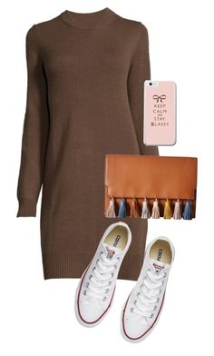 """Untitled #37"" by rosieeumx1 ❤ liked on Polyvore featuring Converse and Rebecca Minkoff"