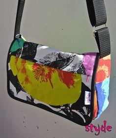 Shoulderbag #flower #cotton #handmade Shoulder Bag, Flower, Cotton, Handmade, Bags, Fashion, Handbags, Moda, Hand Made