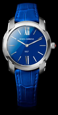 Women's Watch - Steel with Blue Dial - D&G Watches | Dolce & Gabbana Watches for Men and Women