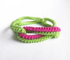 Bracelet Poppy von lesfrotteurs auf Etsy, €9,00