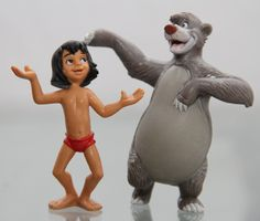 BULLYLAND - Le Livre de la Jungle - SET: Baloo + Mowgli figurine - Walt Disney: Amazon.fr: Jeux et Jouets