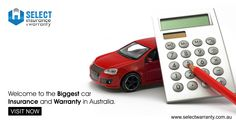 WELCOME TO THE BIGGEST CAR INSURANCE AND WARRANTY IN AUSTRALIA. http://ow.ly/OFYQ9