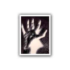 ArtWall Dean Uhlinger 'Hand of Healing' Unwrapped Canvas