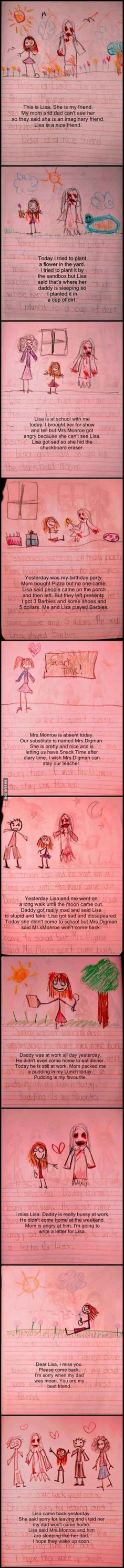 Kid Writes A Story That Would Freak Stephen King Out - 10 Pics