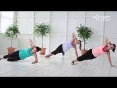 This core conditioning workout is perfect for moms, whose core muscles may be weak from childbirth, breastfeeding or carrying their kids around. This is designed for all levels, with modified exercises for begi Flat Abs Workout, Abs Workout Video, Free Workout, Workout Exercises, Workout Meals, Pilates, Conditioning Workouts, Sup Yoga, Core Muscles
