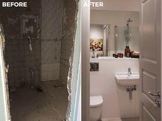 Bathroom | Before & After Malmhattan 6 of 8 @homedoubler  #bathroom #bathroominspo   #bathroominspiration #beforeandafter #malmhattan #malmö #malmo #föreochefter #badrum