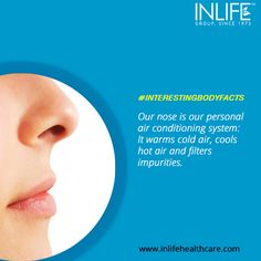 Here is an unbelievable fact we are sure you didn't know about! #Bodyfacts #Humanbody #Nose