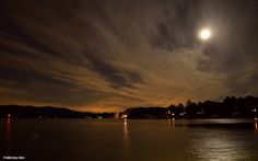 Moonlight Over Smith Mountain Lake, via Flickr.