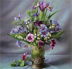 Maria Ilieva bouquet, art, flower, still life ...