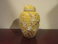 Honey Yellow Ginger Jar Form Chinese Antique Snuff by TFSloan, $50.00