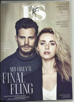 HQ scans of ES Magazine 5 pages with new pictures + interview… | Jamie Dornan News