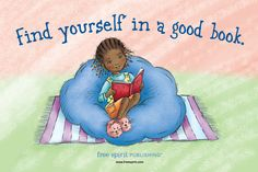 Find yourself in a good book: self-help for kids.