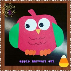 Owls & apples = fall & harvest time! Come by Alamitos storytime!