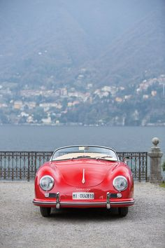 Vintage Cars Classic 1955 Porsche 356 Pre A. - I love scoping out RM Auctions for the latest and greatest in classic cars. James from Silodrome found a good one though---a 1955 Porsche 356 Pre-A by Reutter. Porsche 911 Cabriolet, Porsche Macan Turbo, Porsche 550 Spyder, Porsche Cayenne Turbo, Porsche 356a, Singer Porsche, Porsche Girl, Ferdinand Porsche, Classic Sports Cars