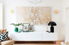 Hanging wall decor is a great and simple way to fill up empty wall space. #UBHomeTeam #MakeItEasyOnYou