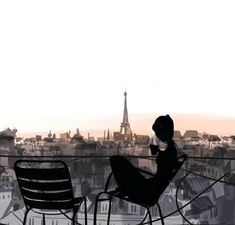 Un café en París, mon rêve
