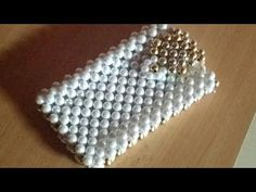 How to make pearl mobile pouches designer part 1 - YouTube