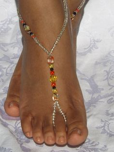 Beach Jewelry Barefoot Sandals Foot jewelry Anklet