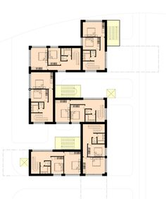 cool residential house plans. Skolkovo Residential Area  Arch Group Apartment PlansInnovation CentreTownhouseFloor Minimalist Traditional Japanese House Floor Plan