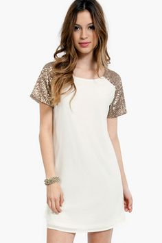 Embellish Me Shift Dress $44 at www.tobi.com @Tyler Dangerfield