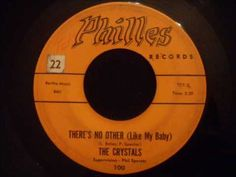 Crystals - Theres No Other Like My Baby - Early Crystals Doo Wop Ballad