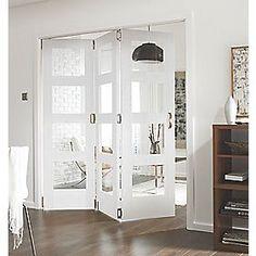 Jeld-Wen Shaker 4-Panel Interior Room Divider Primed 2052 x 1934mm | Doors | Screwfix.com