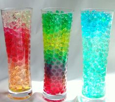 water beads for sensory table...you can buy them (CHEAP) at http://waterbeads.net/