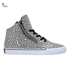 cbb4b09dc3af Supra WOMENS CUTTLER white pattern  Amazon.fr  Chaussures et Sacs