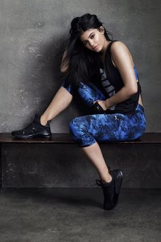 Kylie Jenner Puma Fierce Campaign Photos - Kylie Jenner Official Site