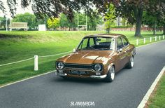Ford Escort Mk1 (1300cc) - this the colour of my car (living in London I couldn't afford the insurance on the Ford Cortina Mk2 1600E or the Capri 1600.