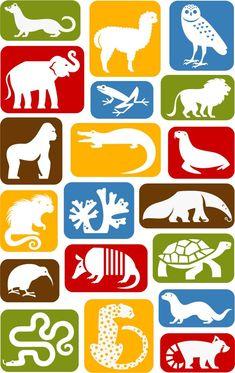 National Zoo: Animal Icons