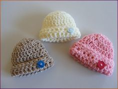 Mamma That Makes: Basic 20w folded brim hat