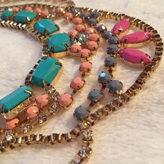 HP 9/4/15Zoky Doky Statement Necklace Beautiful. Bling!!! Zoky Doky Jewelry Necklaces
