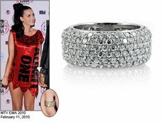 Celebrity Style Jewelry - Katy Perry's Wedding Ring