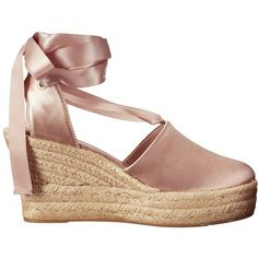 Tory Burch Elisa 90mm Wedge Espadrille (Soy Latte) Women's Wedge Shoes ($328) ❤ liked on Polyvore featuring shoes, sandals, wedges shoes, platform espadrilles, canvas shoes, platform espadrille sandals and platform wedge shoes